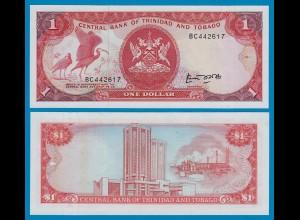 Trinidat & Tobago 1 Dollar Banknote 1985 UNC (1) Pick 36a (18317