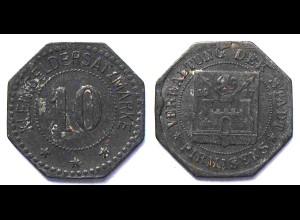 Pirmasens 10 Pfennig Notgeld/Kleingeldersatz 1917 Zink (21954