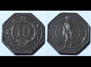 Hamm 10 Pfennig Notgeld 1918 Eisen (21994