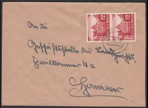 3.Reich Brief mit Mi. 766 als Mehrfachfrankatur 1941 (22181