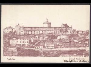 Polen - Poland AK Lublin ca. 1915 Zamek Krolewski Königliches Schloss (22149