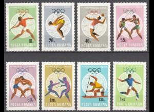 RUMÄNIEN - ROMANIA - 1968 Olympiade Mi. 2697-04 postfr. (22548