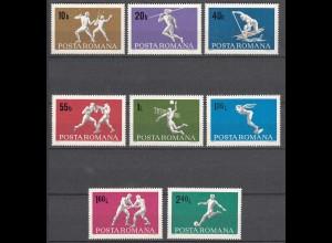 RUMÄNIEN - ROMANIA - 1969 Sport Mi. 2747-54 postfrisch (22552