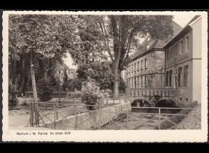AK Nottuln Partie im alten Stift m.Nonnenbach bei Coesfeld Münster (22569