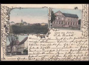 AK Nottuln 1905 Jugendstil Schule etc. bei Coesfeld Münster (22572
