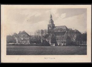 AK Nottuln 1913 Ansicht auf Hof Münnich/Kirche bei Coesfeld Münster (22573