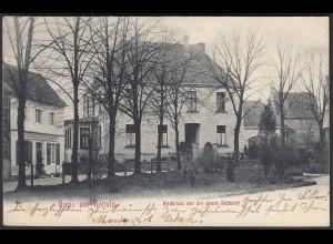 AK Nottuln 1906 Gaststätte + Dechanei bei Coesfeld Münster (22580