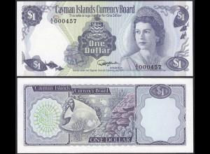 Cayman Islands - 1 Dollar 1974 Prefix A4 Pick 5a RAR UNC = Kassenfrisch (13106