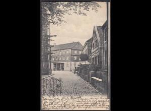 AK Nottuln 1905 Kirchstr. Geschäfthäuser bei Coesfeld Münster (22583