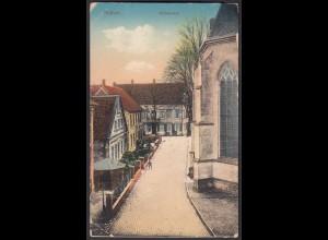 AK Nottuln Stiftsstr. Blick a.Hotel Schlaun bei Coesfeld Münster (22584