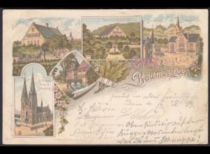 AK Litho Nottuln Billerbeck Baumberge 1899 bei Coesfeld Münster Havixbeck (22591