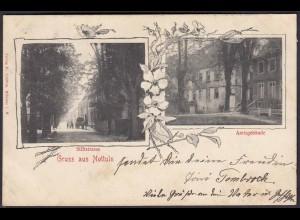 AK Nottuln Jugendstil Amtsgebäude Stiftsstrasse bei Coesfeld Münster (22594