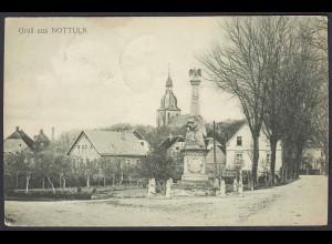 AK Nottuln Kriegerdenkmal Eingang Stiftsstrasse bei Coesfeld Münster (22598