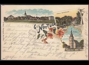 AK Nottuln Liho 1899 bei Coesfeld Münster (22599