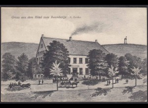 AK Nottuln Havixbeck Hotel Gerdes Baumberge bei Münster Coesfeld (22639