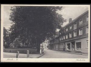 AK Nottuln Geschäfte am Kirchplatz 1933 bei Coesfeld Münster (22656