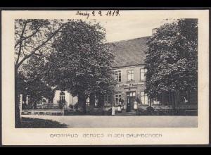AK Nottuln-Havixbeck Gasthaus Gerdes 1913 Baumberge bei Coesfeld Münster