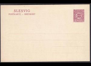 Sleswig - Slesvig 15 Pfennig Ganzsache 1920 Mi. P 3 * (22762