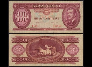 Ungarn - Hungary 100 Forint Banknote 1984 Pick 171g VF (3) (22832