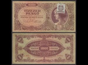 Ungarn - Hungary 10.000 Pengo Banknote 1945 Pick 119 VF (3) (22839
