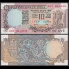 Indien - India - 10 RUPEES Banknote - Pick 81e aUNC (1-) (21859