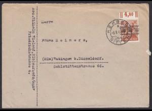 HERBEDE Überstempel Witten nach Ratingen Landpost (20612