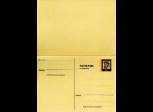 Berlin Ganzsache Frage/Antwortkarte P59 1962 *
