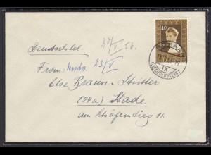 Liechtenstein Bedarfsbrief 1956 Ef.Mi. 340 Prinz Nikolaus (22932