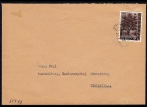 Liechtenstein 1959 Brief Mi. 371 EF Bergahorn (23031