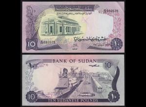 Sudan - 10 Pounds Banknote 1978 Pick 15b VF (3) (23192