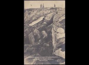 AK BELGIEN Trümmer Fort Loucin Kriegsschauplatz 1917 nach Nottuln