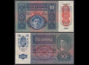 Österreich - Austria 10 Kronen Banknote 1915 (1919) Pick 51 UNC (1) (23225