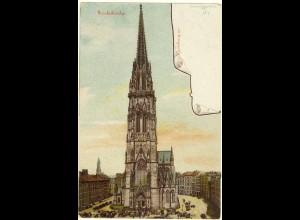 AK Hamburg Nicolaikirche ungelaufen um 1900 (1978