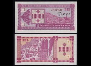 Georgien - Georgia 10000 10.000 Lari Banknote 2002 Pick 39 UNC (1) (23358