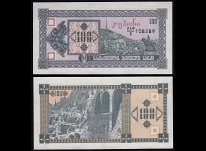 Georgien - Georgia 100 Lari Banknote 1993 Pick 38 UNC (1) (23360