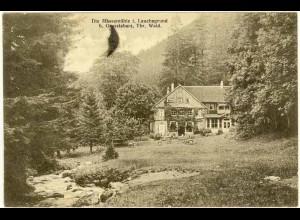 AK 1918 Thüringen Massemühle Lauchgrund bei Grosstabarz (0974