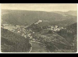 AK 1910 Thüringen Schwarzburg Gesamtübersicht (0952