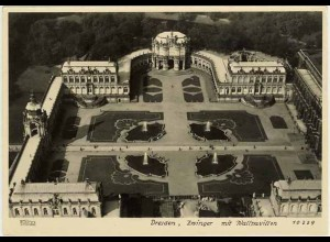 AK Sachsen Dresden Zwinger mit Wallpavillon. (0931