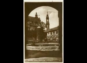 AK Sachsen Dresden Stallhof im Johanneum (0914