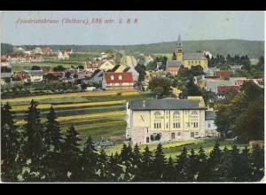 AK 1916 Sachsen-Anhalt Friedrichsbrunn mit Grebe Hotel + Gesamtansicht (0901