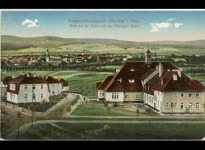 AK 1917 Thüringen Ohrdruf Truppenübungsplatz (0897