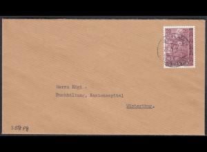 Liechtenstein Brief Schaan nach Winterthur Mi. 358 (23040