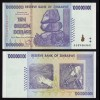 SIMBABWE - ZIMBABWE 10 Billion Dollars 2008 Pick 85 UNC (17899