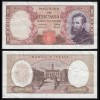 Italien - Italy 10000 10.000 Lire Banknote 1973 VF (3) Pick 97f Michelangelo