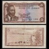 KENIA - KENYA 5 Shillings Banknote 1967 Pick 1b fast VF (3-) (17527
