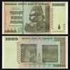 SIMBABWE - ZIMBABWE 20 Billion Dollars 2008 Pick 86 UNC (1) (17897