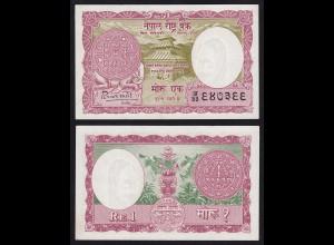 NEPAL - 1 Mohru 1960 Banknote UNC (1) Pick 8 sig.4 (17570
