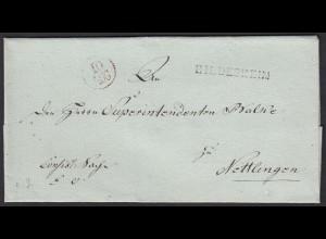 Altdeutschland Umschlag HILDESHEIM L1s - NETTLINGEN (15935