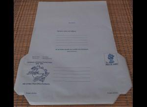 Isle of Man 1874-1974 Luftpostleichtbriefe 76 Stück UPU ungebr.