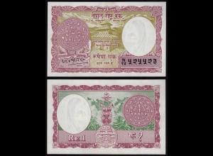 NEPAL - 1 Mohru 1960 Banknote UNC (1) Pick 8 sig.8 (23449